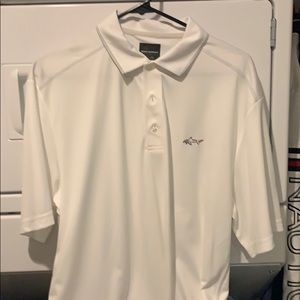 New Greg Norman cooling fabric white